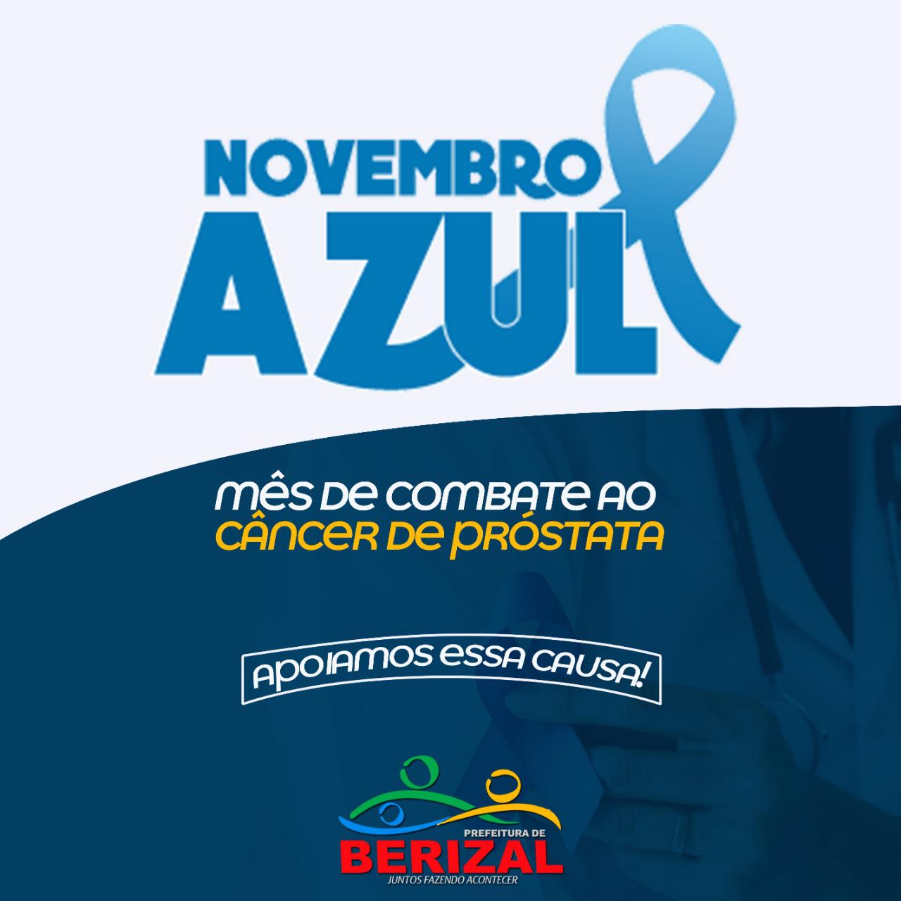 Novembro Azul - Apoiamos essa causa!