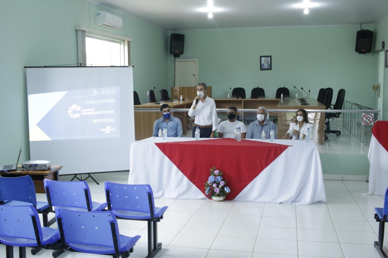 Prefeitura Municipal de Berizal, com o programa Cidade Empreendedora, cria a Sala Mineira